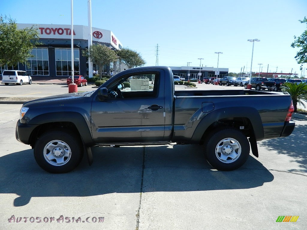 2012 Toyota Tacoma Regular Cab 4x4 in Magnetic Gray Mica - 007581 ...