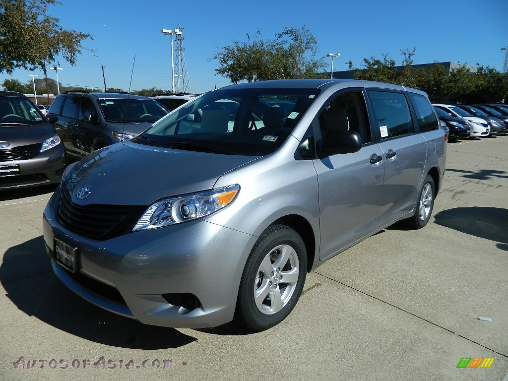 2012 Toyota Sienna in Silver Sky Metallic photo #3 - 010245 | Autos of Asia - Japanese and ...