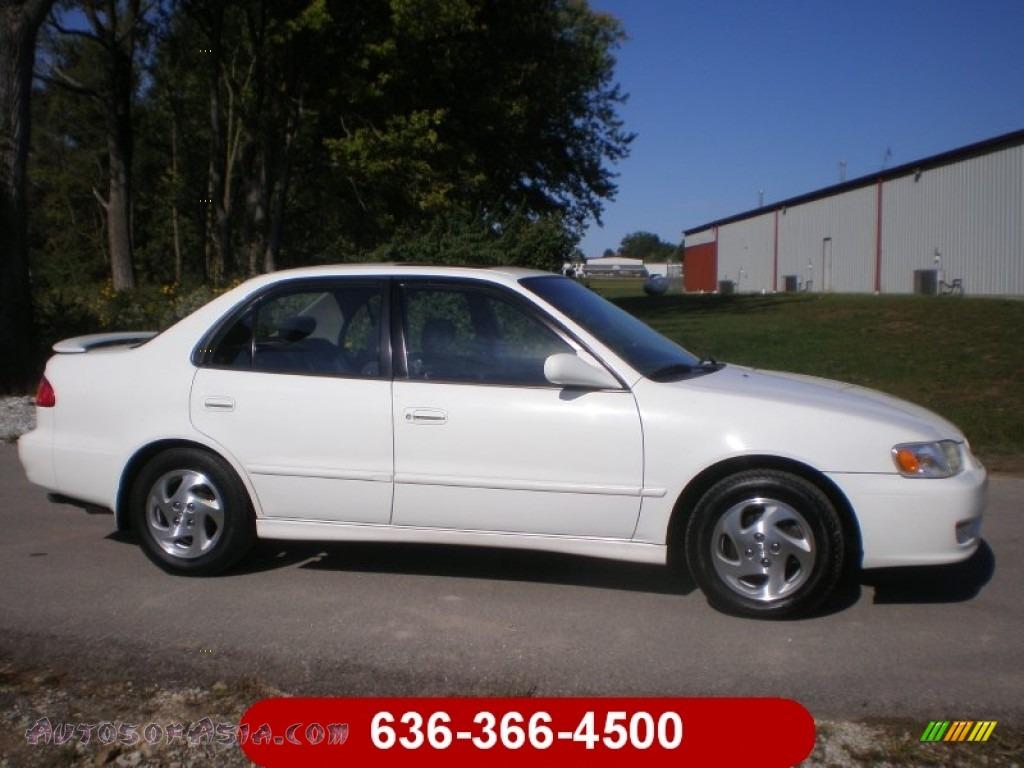 2002 Toyota Corolla S In Super White 575540 Autos Of