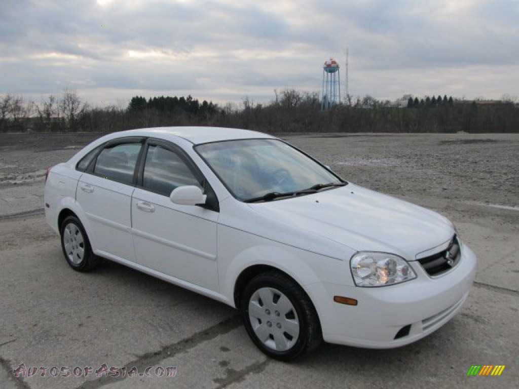 2008 Suzuki Forenza In Absolute White 972404 Autos Of
