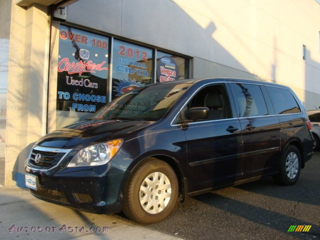 2009 honda odyssey lx in bali blue pearl 045352 autos. Black Bedroom Furniture Sets. Home Design Ideas