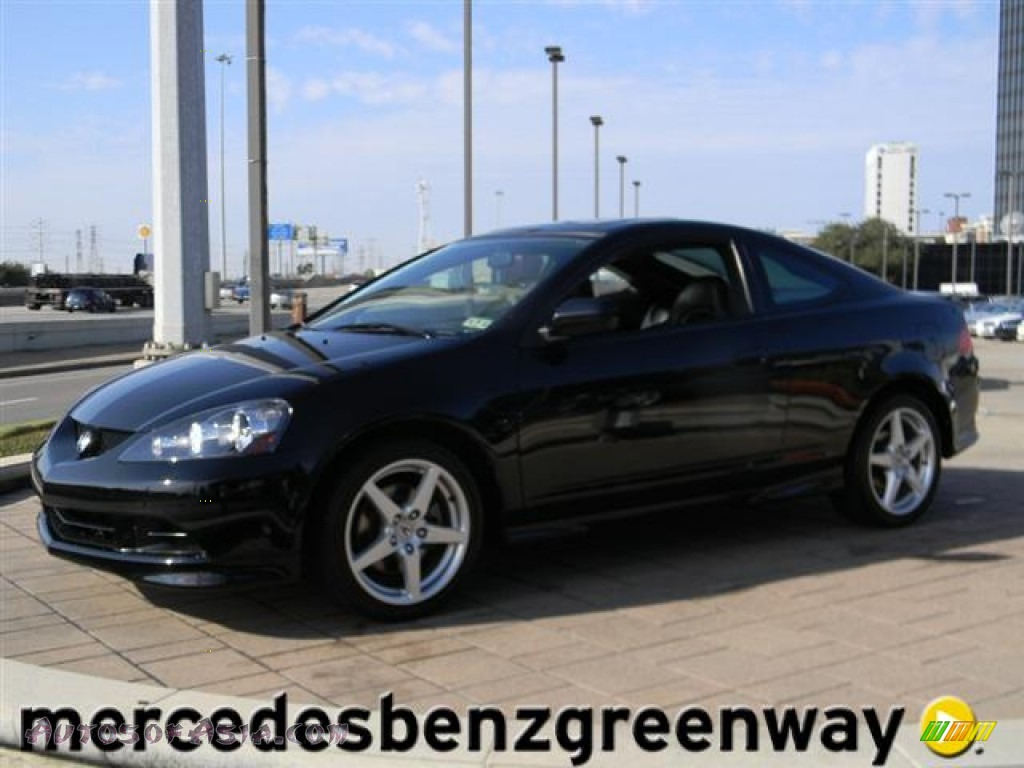 2006 Acura RSX Type S Sports Coupe in Nighthawk Black ...