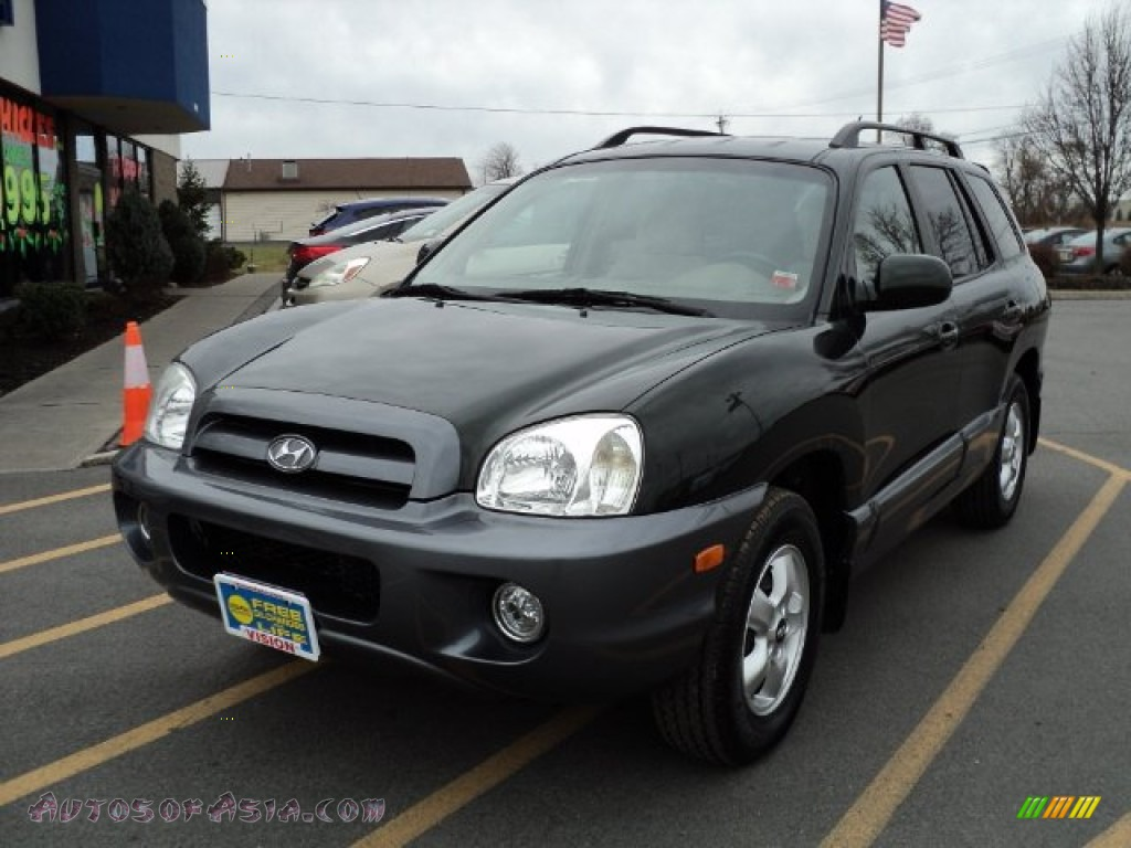 2006 hyundai santa fe gls in dark emerald green 104768. Black Bedroom Furniture Sets. Home Design Ideas