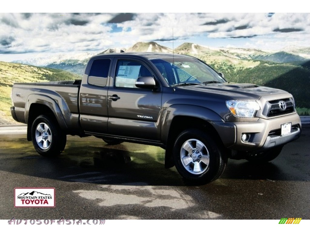 2012 Toyota Tacoma V6 Trd Sport Access Cab 4x4 In Pyrite