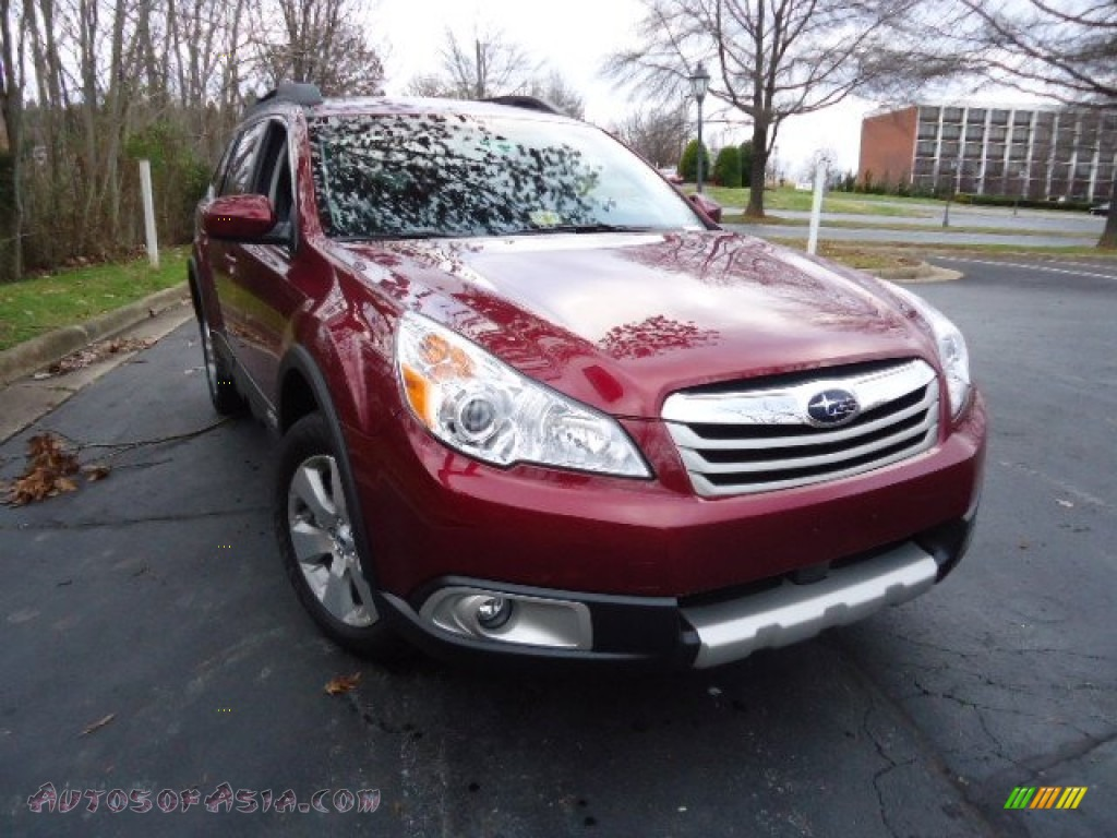2012 subaru outback 3.6r limited in ruby red pearl - 228152