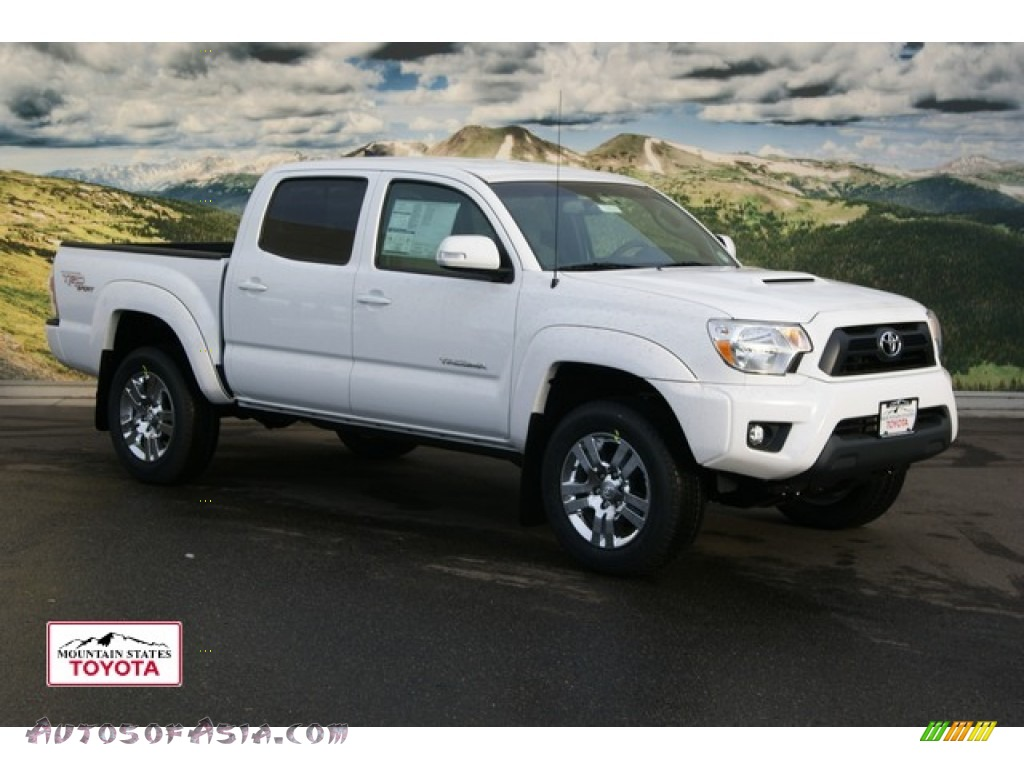 2012 toyota tacoma v6 trd sport double cab 4x4 in super white 087442 autos of asia. Black Bedroom Furniture Sets. Home Design Ideas