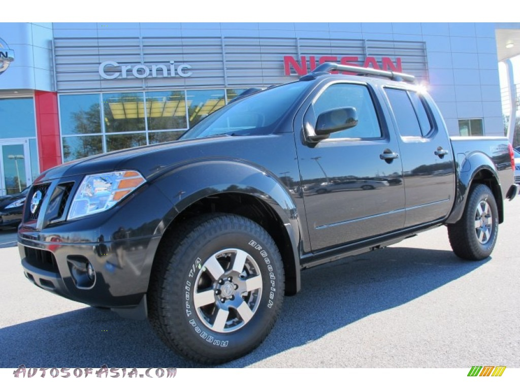 2012 nissan frontier pro 4x crew cab 4x4 in night armor metallic 418458 autos of asia. Black Bedroom Furniture Sets. Home Design Ideas