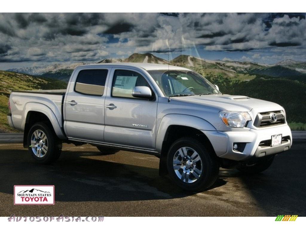 2012 toyota tacoma v6 trd sport double cab 4x4 in silver streak mica 087352 autos of asia. Black Bedroom Furniture Sets. Home Design Ideas