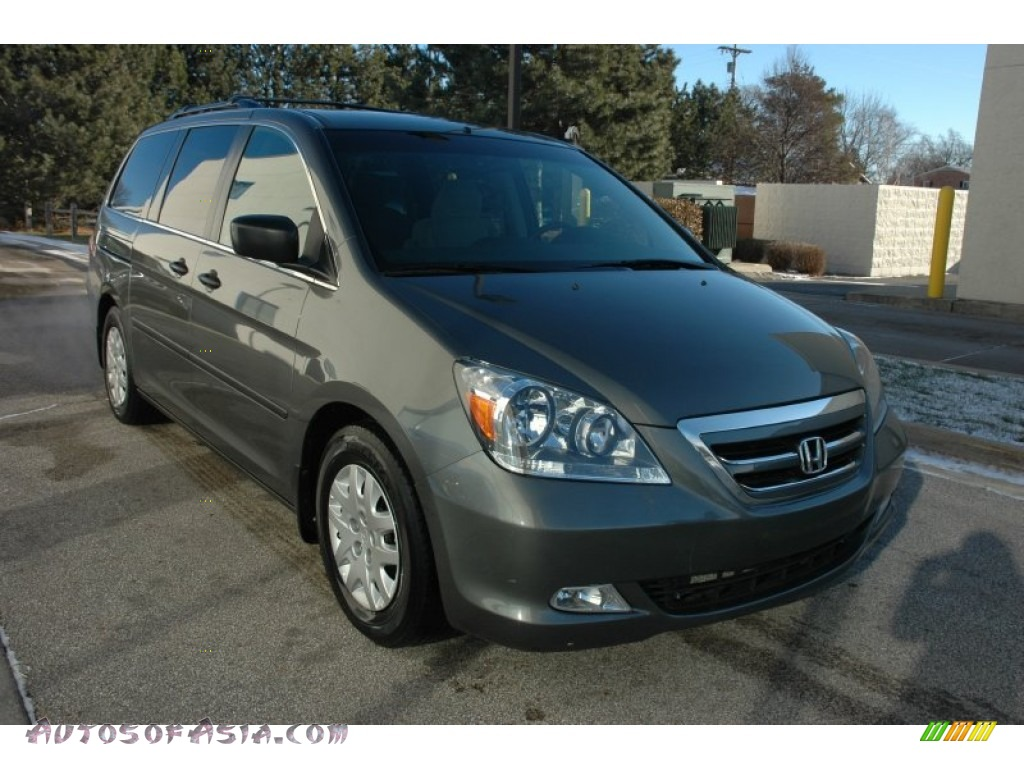 2007 honda odyssey lx in nimbus gray metallic 018485. Black Bedroom Furniture Sets. Home Design Ideas