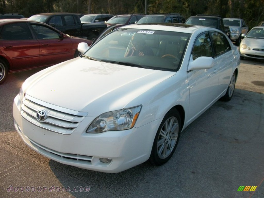 2006 toyota avalon limited in blizzard white pearl 092790 autos of asia japanese and. Black Bedroom Furniture Sets. Home Design Ideas