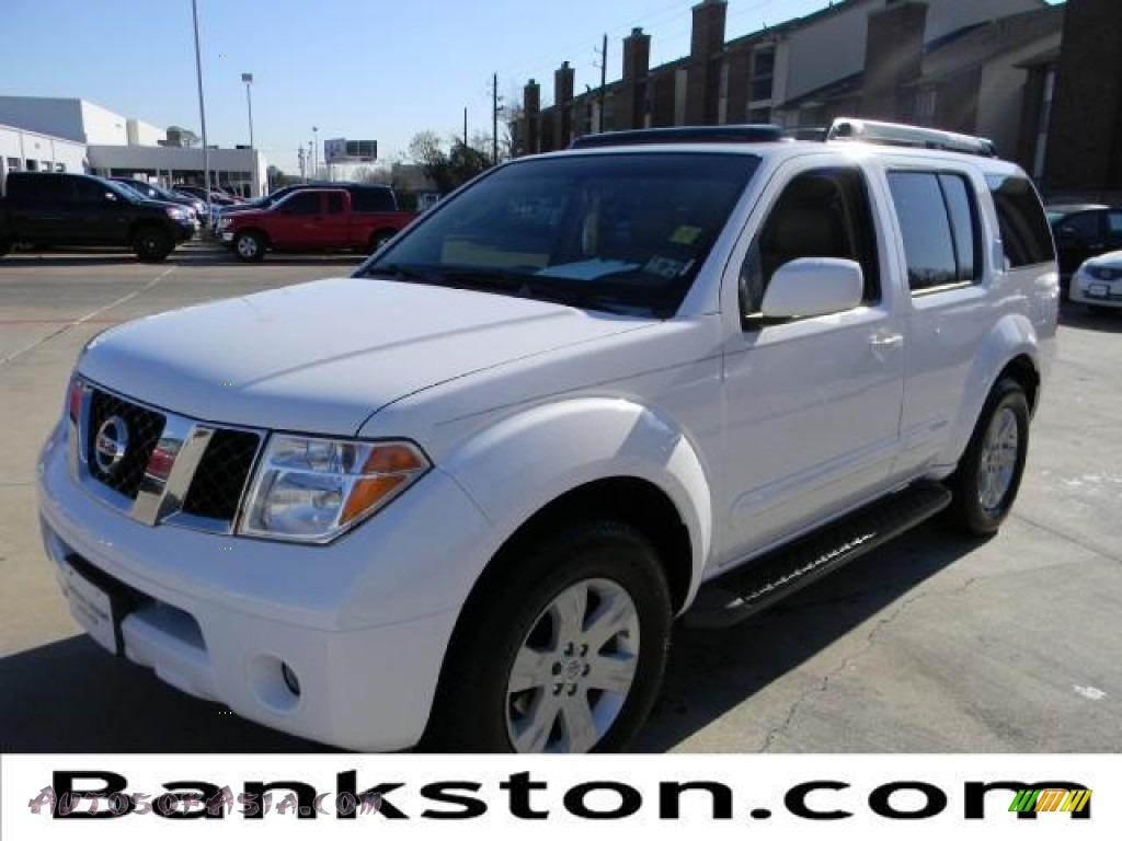 2007 nissan pathfinder le in avalanche white 608863. Black Bedroom Furniture Sets. Home Design Ideas