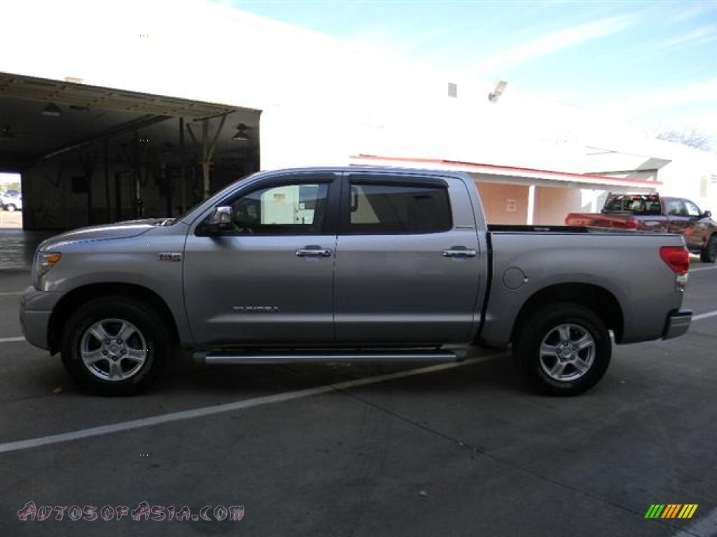 2007 toyota tundra limited crewmax in silver sky metallic photo 9 027933 autos of asia. Black Bedroom Furniture Sets. Home Design Ideas