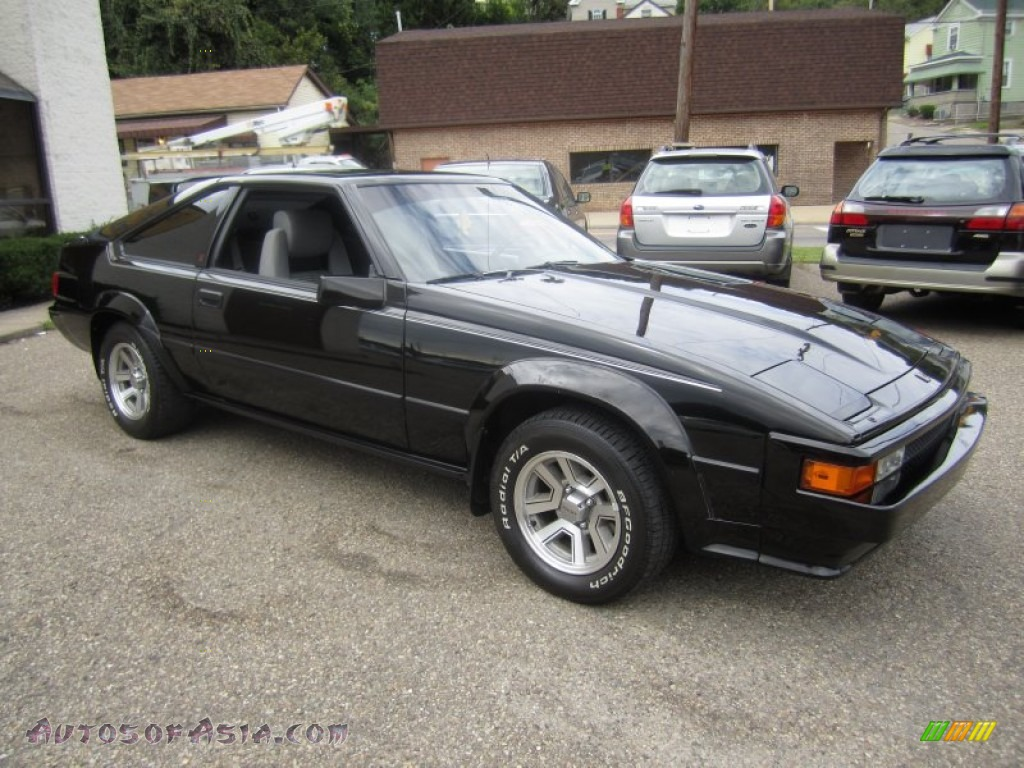 1984 toyota celica supra in black 135813 autos of asia. Black Bedroom Furniture Sets. Home Design Ideas