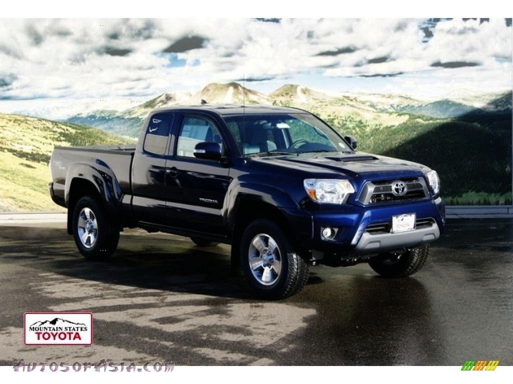 2012 toyota tacoma v6 trd sport access cab 4x4 in nautical blue metallic photo 2 031026. Black Bedroom Furniture Sets. Home Design Ideas