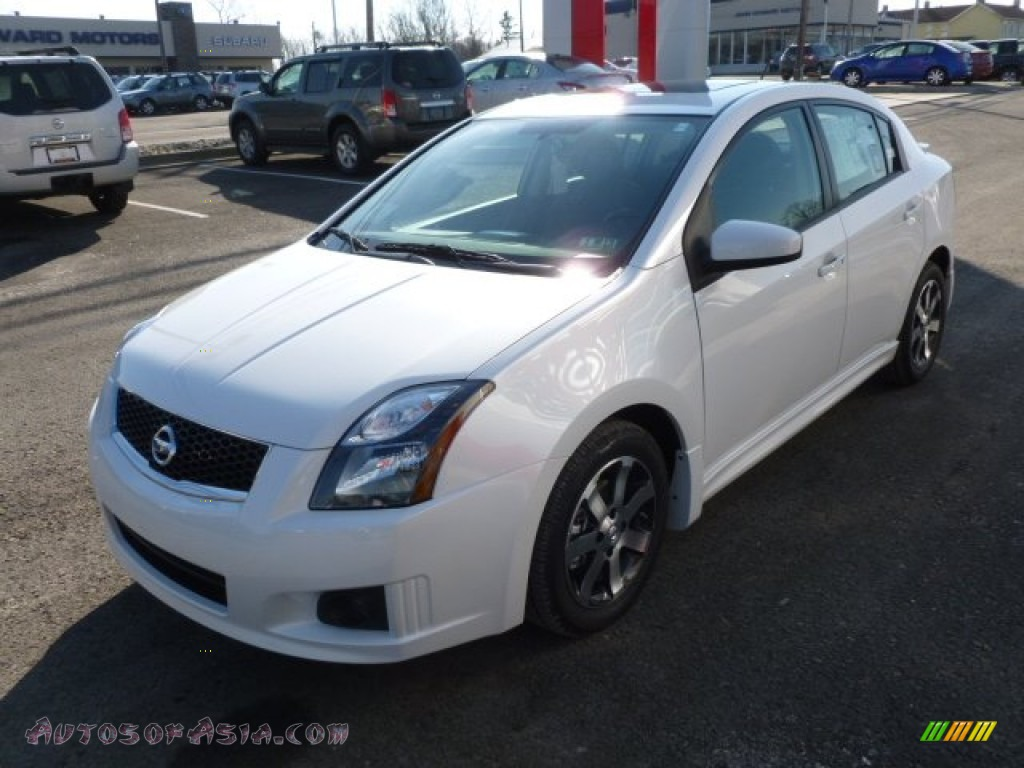 2012 nissan sentra 2 0 sr special edition in aspen white photo 3 676538 autos of asia. Black Bedroom Furniture Sets. Home Design Ideas