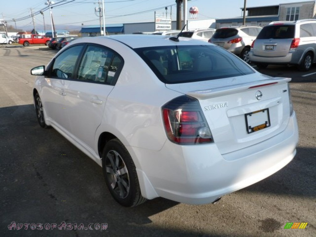 2012 nissan sentra 2 0 sr special edition in aspen white photo 5 676538 autos of asia. Black Bedroom Furniture Sets. Home Design Ideas