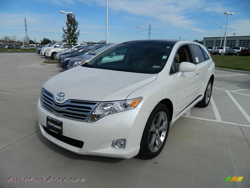 2012 Toyota Venza Xle In Blizzard White Pearl 046541