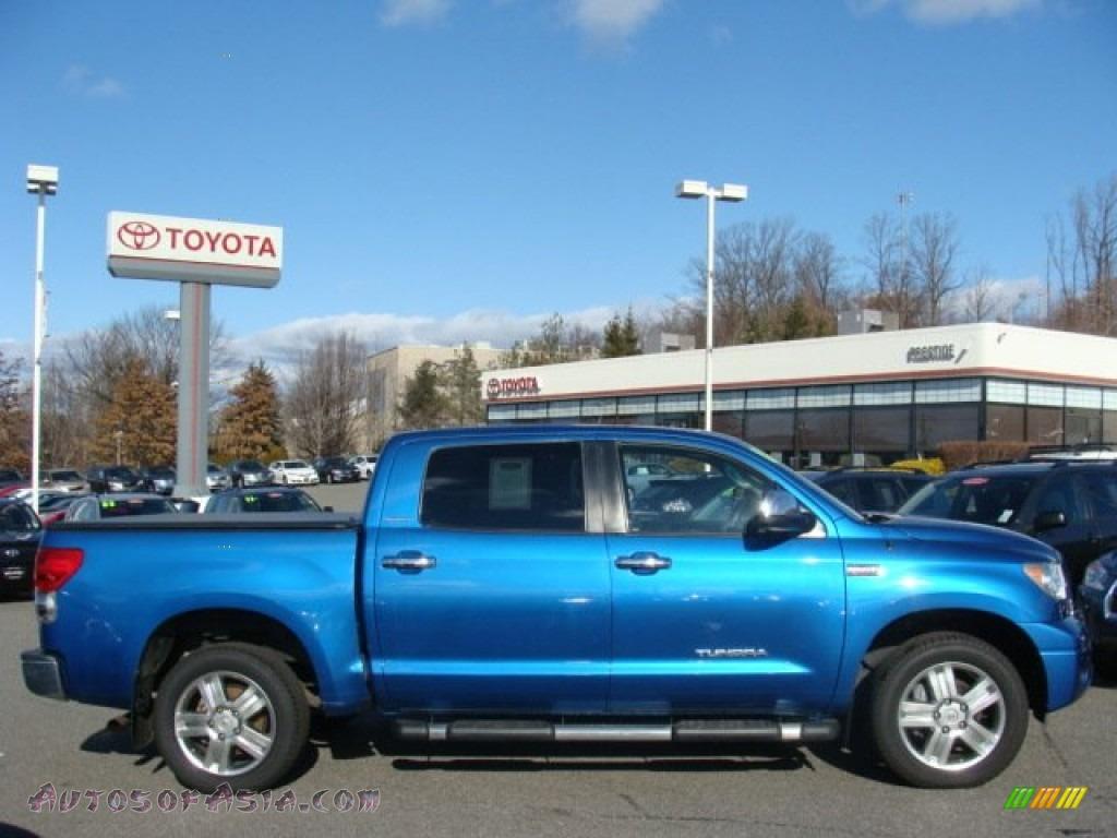 2008 Toyota Tundra Limited Crewmax 4x4 In Blue Streak