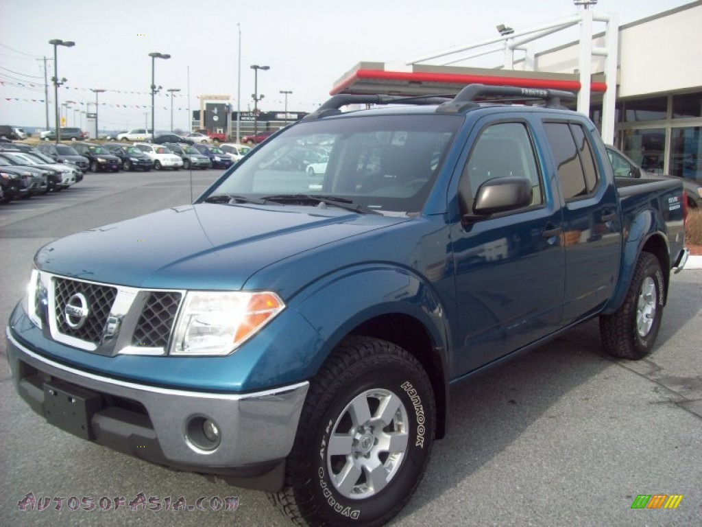 2005 nissan frontier nismo crew cab 4x4 in electric blue. Black Bedroom Furniture Sets. Home Design Ideas