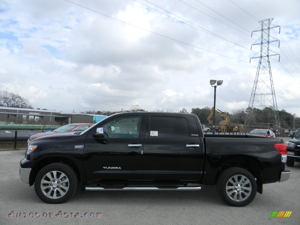2012 Toyota Tundra Platinum Crewmax 4x4 In Black Photo 8