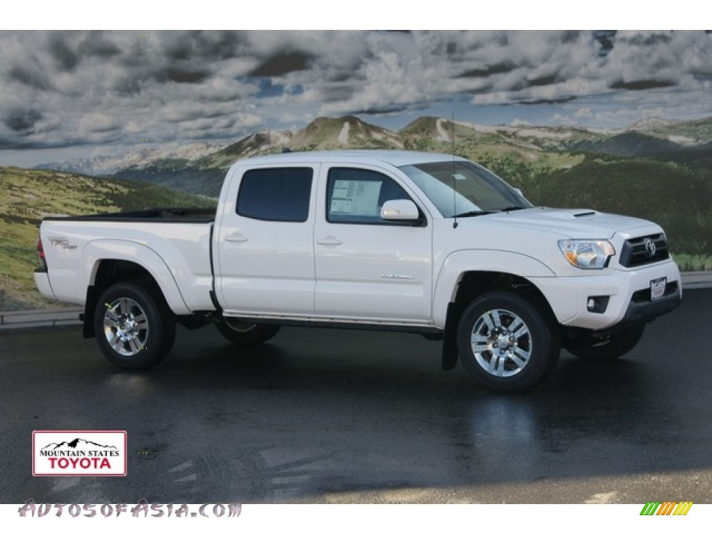 2012 toyota tacoma v6 trd sport double cab 4x4 in super white 042252 autos of asia. Black Bedroom Furniture Sets. Home Design Ideas