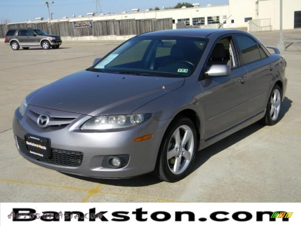 2006 mazda mazda6 s sport sedan in tungsten gray metallic m06997 autos of asia japanese. Black Bedroom Furniture Sets. Home Design Ideas