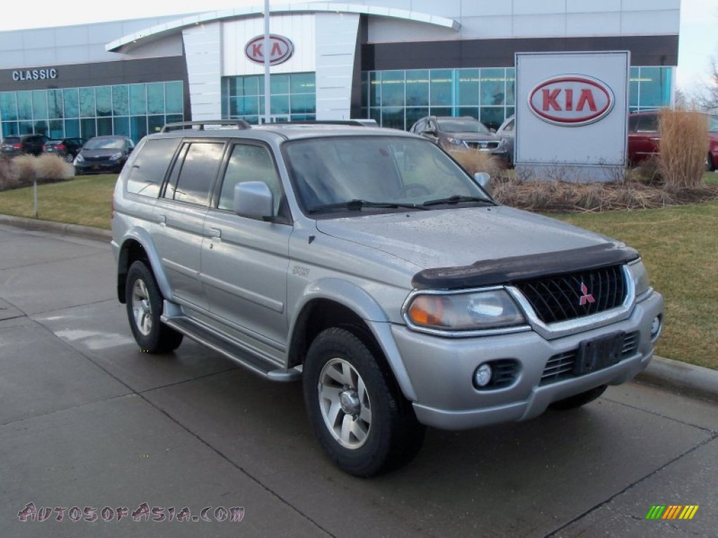 Ron Lewis Dodge >> 2001 Mitsubishi Montero Sport Limited 4x4 in Seattle Silver Metallic - 037552 | Autos of Asia ...