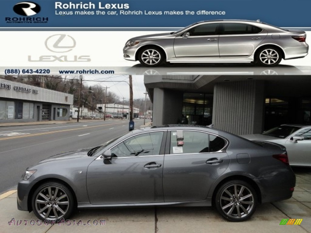 2013 lexus gs 350 awd f sport in nebula gray pearl photo 17 000314 autos of asia japanese. Black Bedroom Furniture Sets. Home Design Ideas