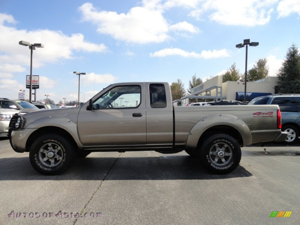 2003 nissan frontier xe v6 king cab 4x4 in sand dune metallic 441570 autos of asia. Black Bedroom Furniture Sets. Home Design Ideas