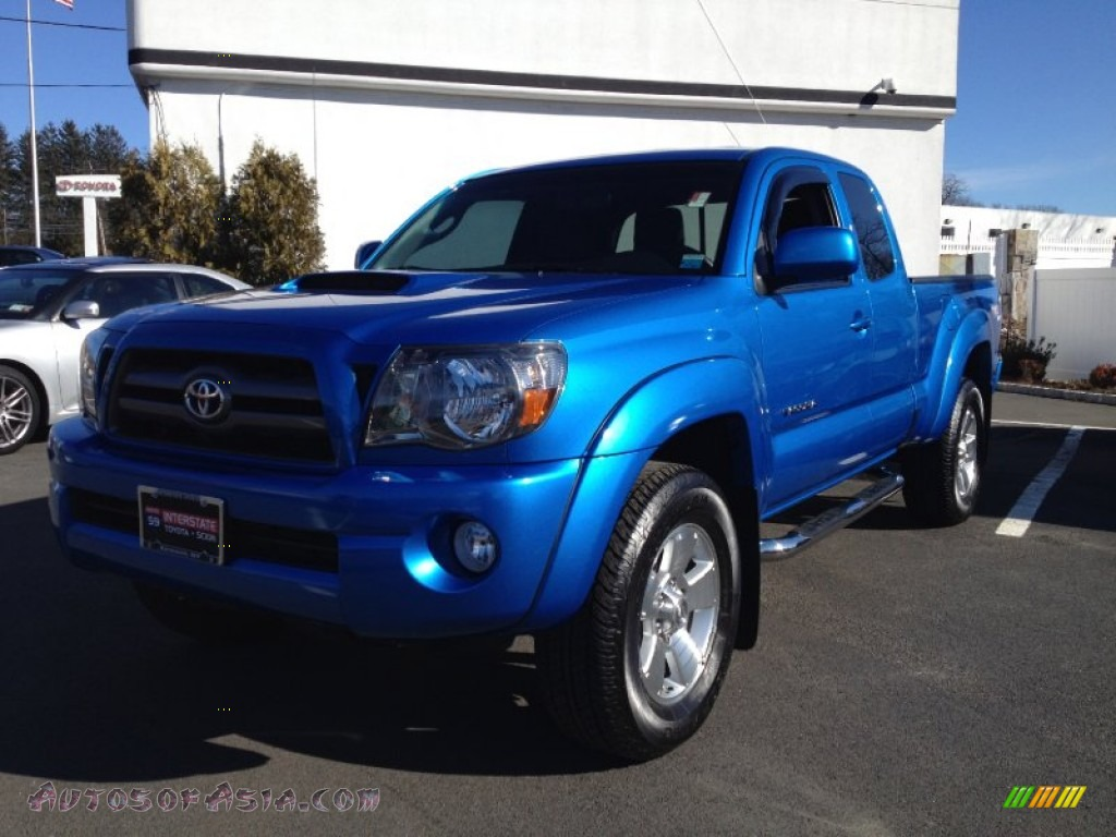 2010 toyota tacoma v6 sr5 trd sport access cab 4x4 in speedway blue 729218 autos of asia. Black Bedroom Furniture Sets. Home Design Ideas
