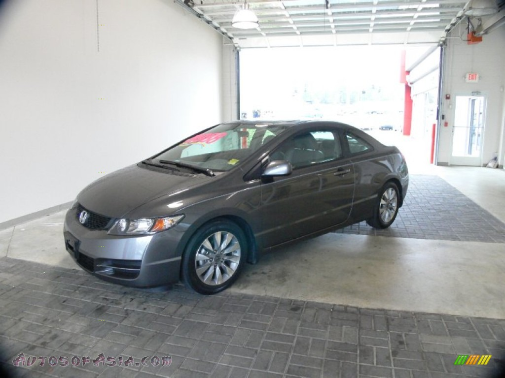 2011 honda civic ex-l coupe in polished metal metallic photo  11