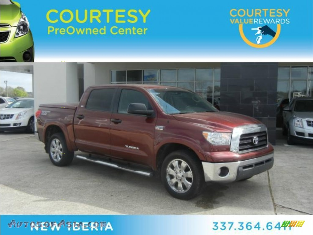 2008 toyota tundra sr5 tss crew max in salsa red pearl 065196 autos of asia japanese and. Black Bedroom Furniture Sets. Home Design Ideas