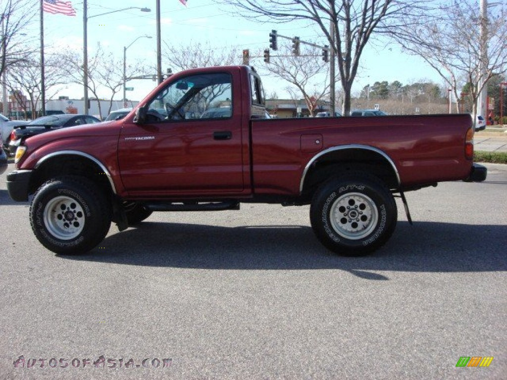 1998 toyota tacoma regular cab 4x4 in sunfire red pearl metallic photo 7 010371 autos of. Black Bedroom Furniture Sets. Home Design Ideas