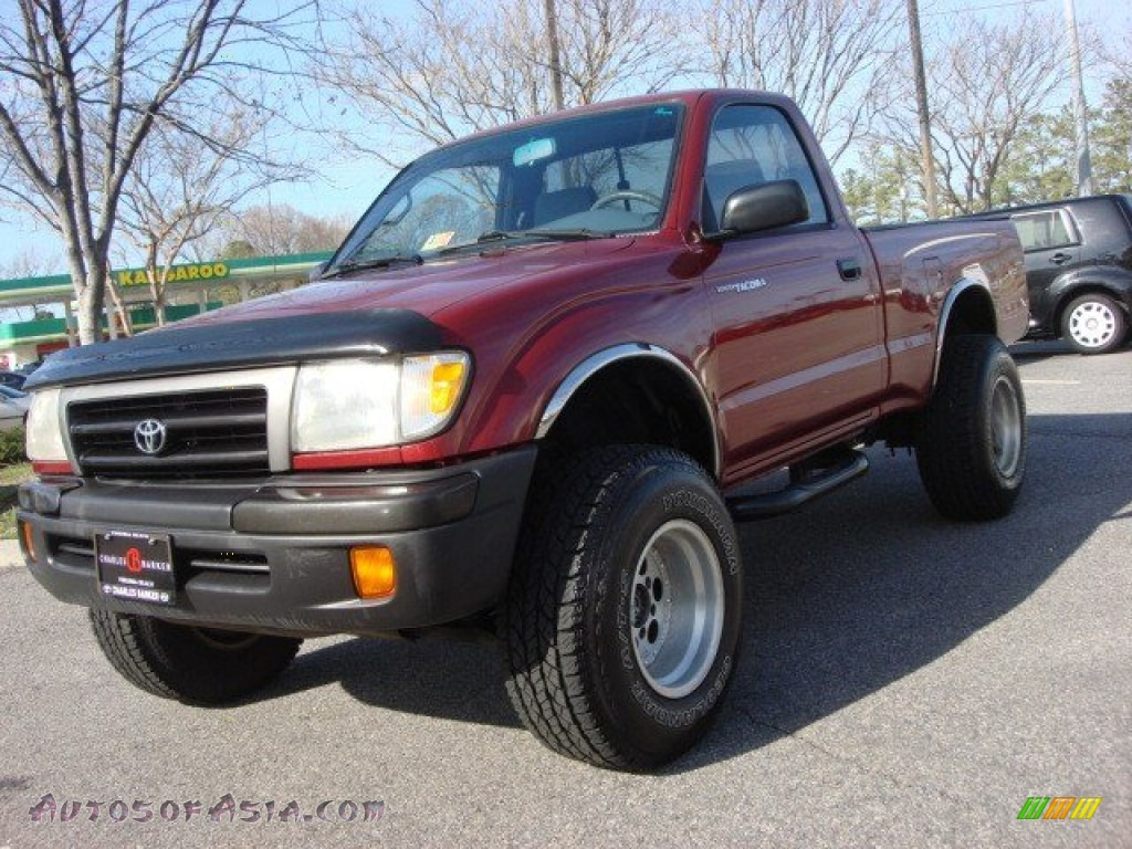 1998 toyota tacoma regular cab 4x4 in sunfire red pearl metallic photo 8 010371 autos of. Black Bedroom Furniture Sets. Home Design Ideas