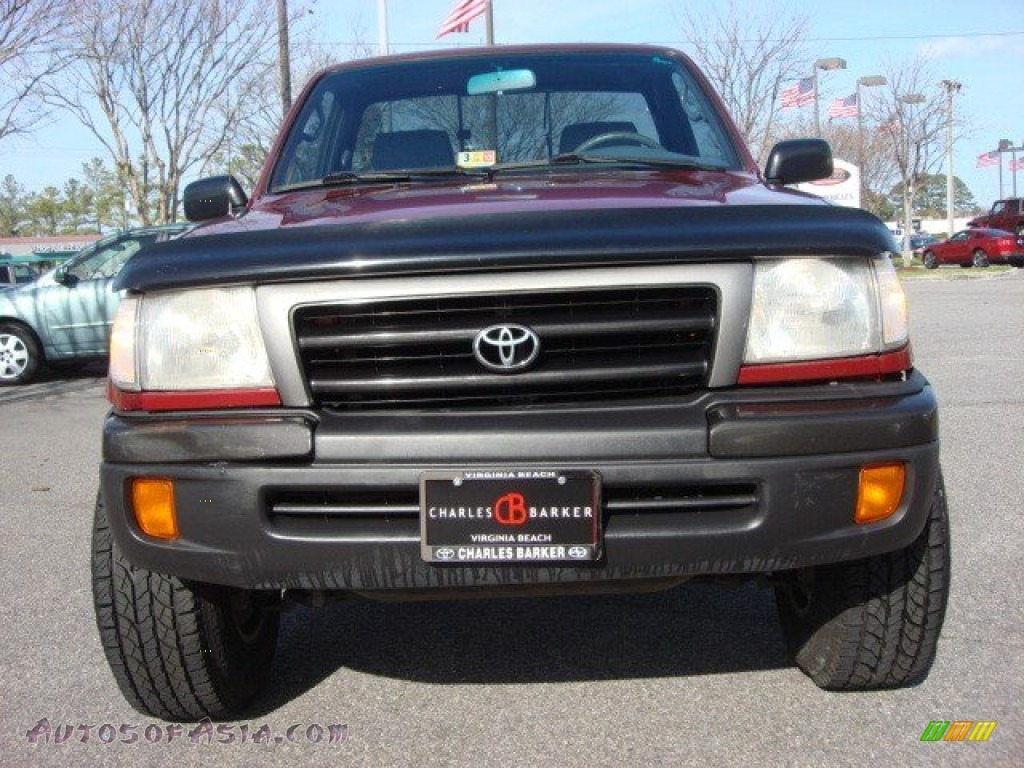 1998 toyota tacoma regular cab 4x4 in sunfire red pearl metallic photo 9 010371 autos of. Black Bedroom Furniture Sets. Home Design Ideas
