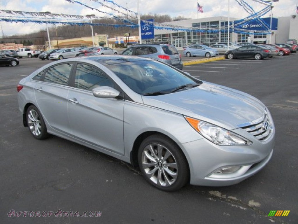 2012 hyundai sonata limited 2 0t in radiant silver 350658 autos of asia japanese and. Black Bedroom Furniture Sets. Home Design Ideas