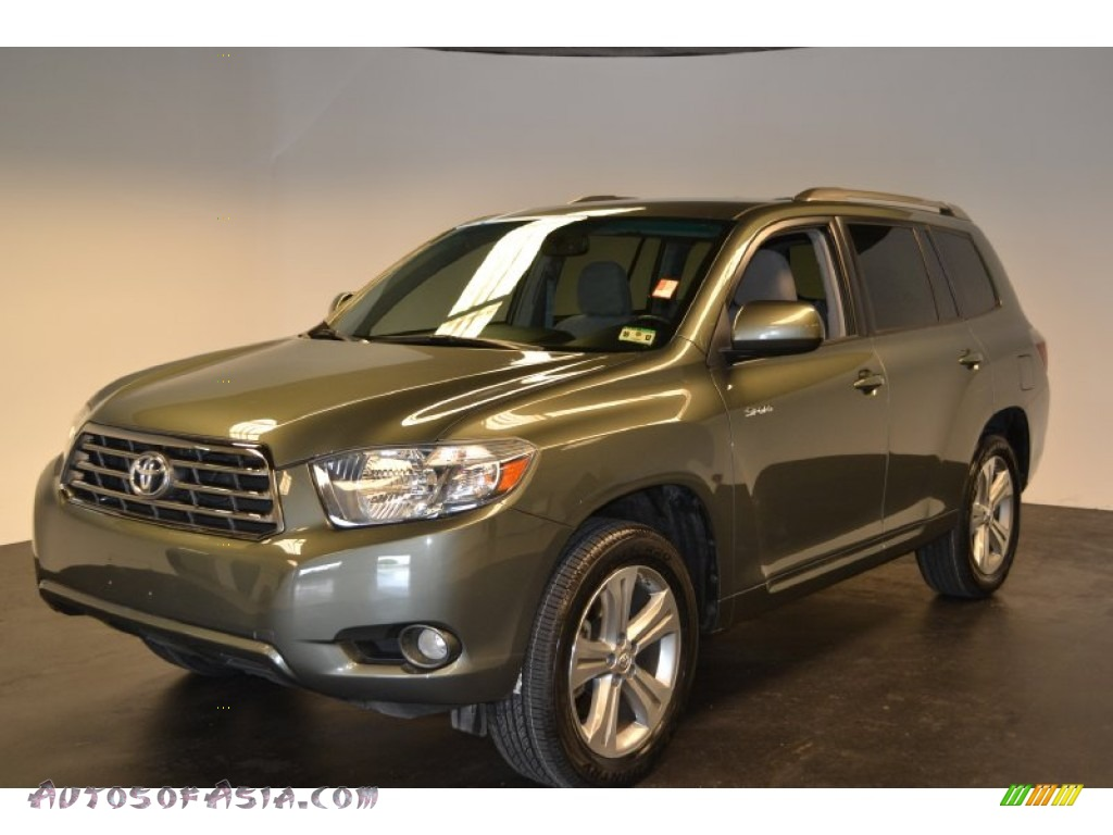 2008 toyota highlander sport in cypress green pearl 014204 autos of asia japanese and. Black Bedroom Furniture Sets. Home Design Ideas