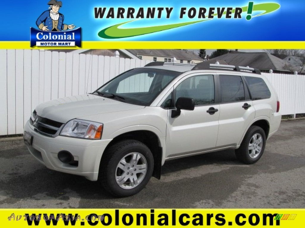 2008 mitsubishi endeavor ls awd in dover white pearl for Colonial motors indiana pa