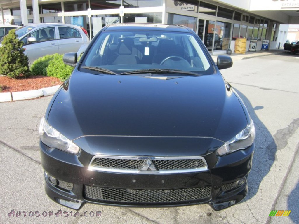 2010 mitsubishi lancer gts in tarmac black pearl photo 8 025833 autos of asia japanese. Black Bedroom Furniture Sets. Home Design Ideas