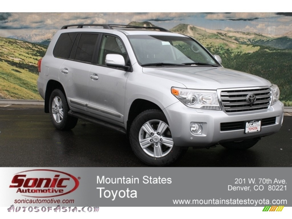 2013 Toyota Land Cruiser in Classic Silver Metallic - 009979 | Autos ...