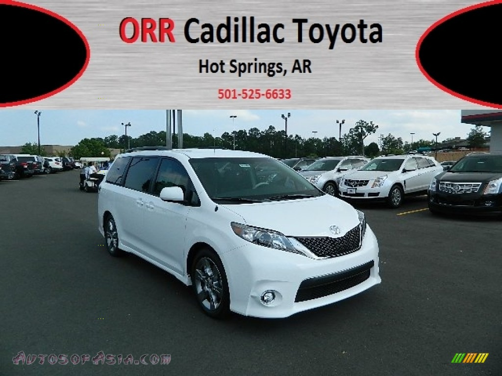2012 toyota sienna se in super white photo 10 239833 autos of asia japanese and korean. Black Bedroom Furniture Sets. Home Design Ideas