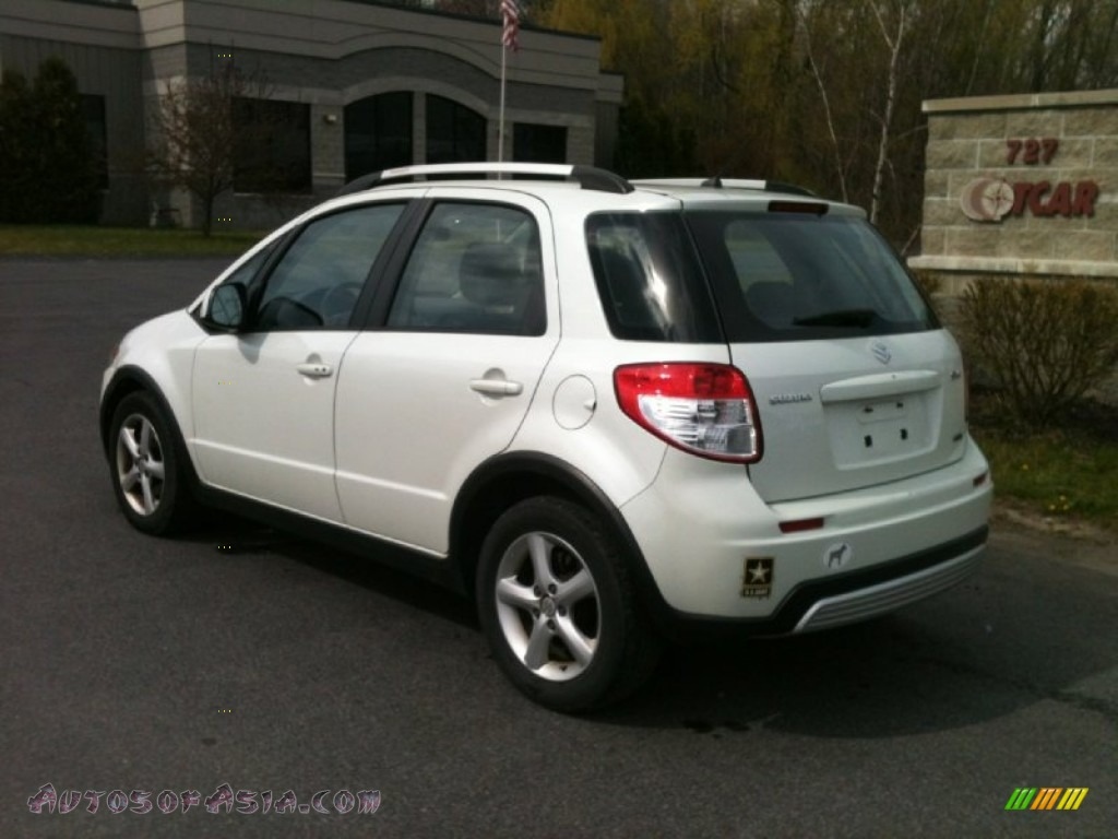 2007 Suzuki Sx4 Sport Awd In Pearl White Photo 3 101463