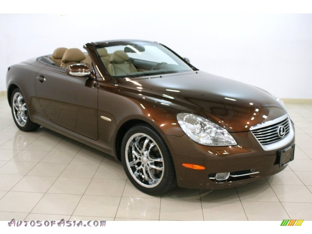 2006 Lexus Sc 430 Pebble Beach Edition In Tigereye Mica