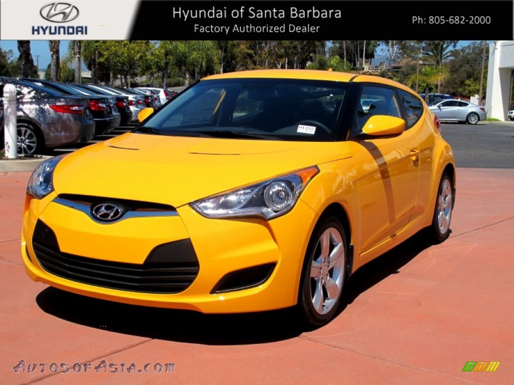 2012 hyundai veloster in 26 2 yellow photo 3 065094 for Honda dealership santa barbara