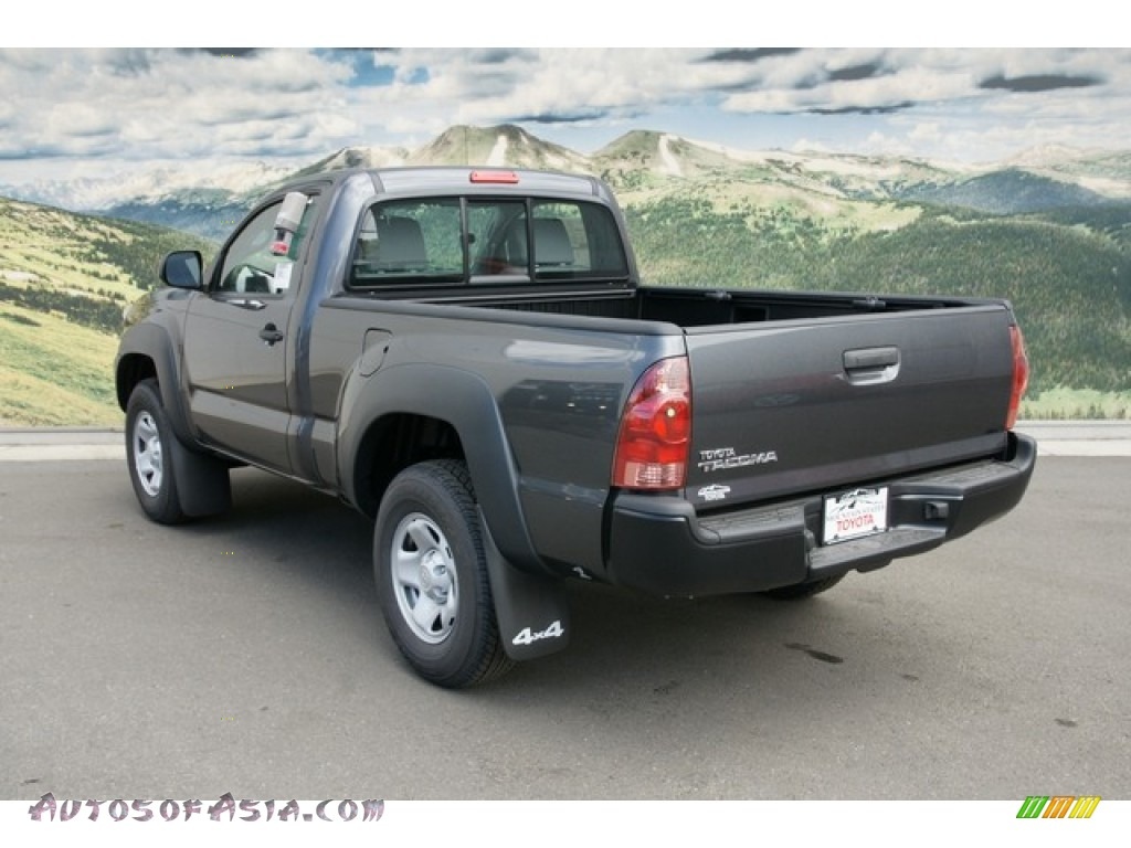 2012 Toyota Tacoma Regular Cab 4x4 In Magnetic Gray Mica