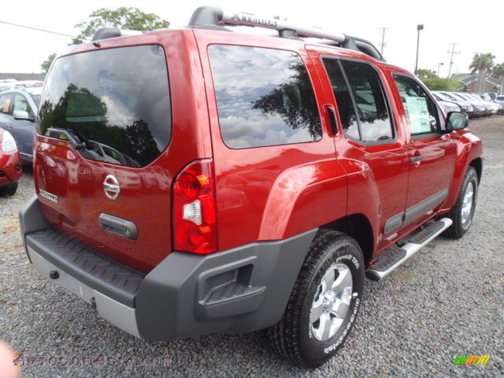 2012 nissan xterra s in lava red photo 3 512354 autos of asia japanese and korean cars. Black Bedroom Furniture Sets. Home Design Ideas