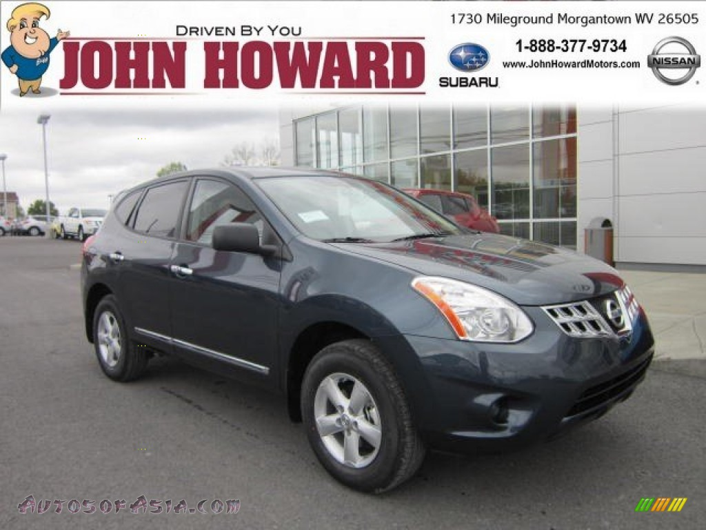 2012 Nissan Rogue S Special Edition AWD in Graphite Blue - 397781 ...