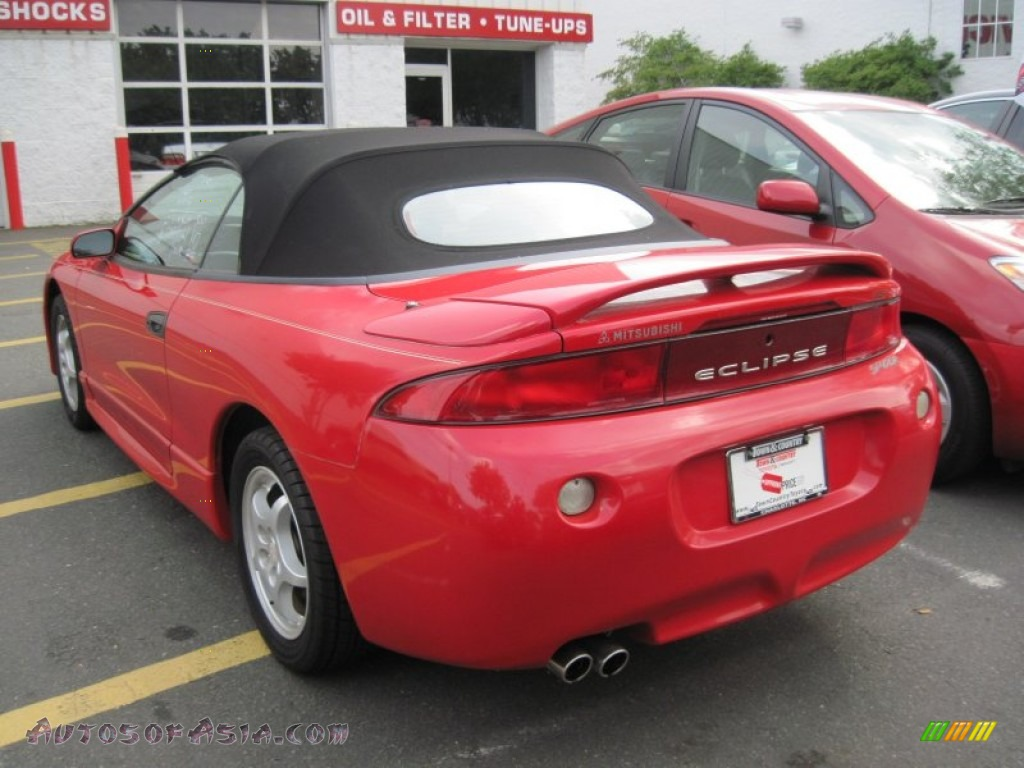 1998 mitsubishi eclipse spyder gs in cayanne red pearl photo 5 113953 autos of asia. Black Bedroom Furniture Sets. Home Design Ideas