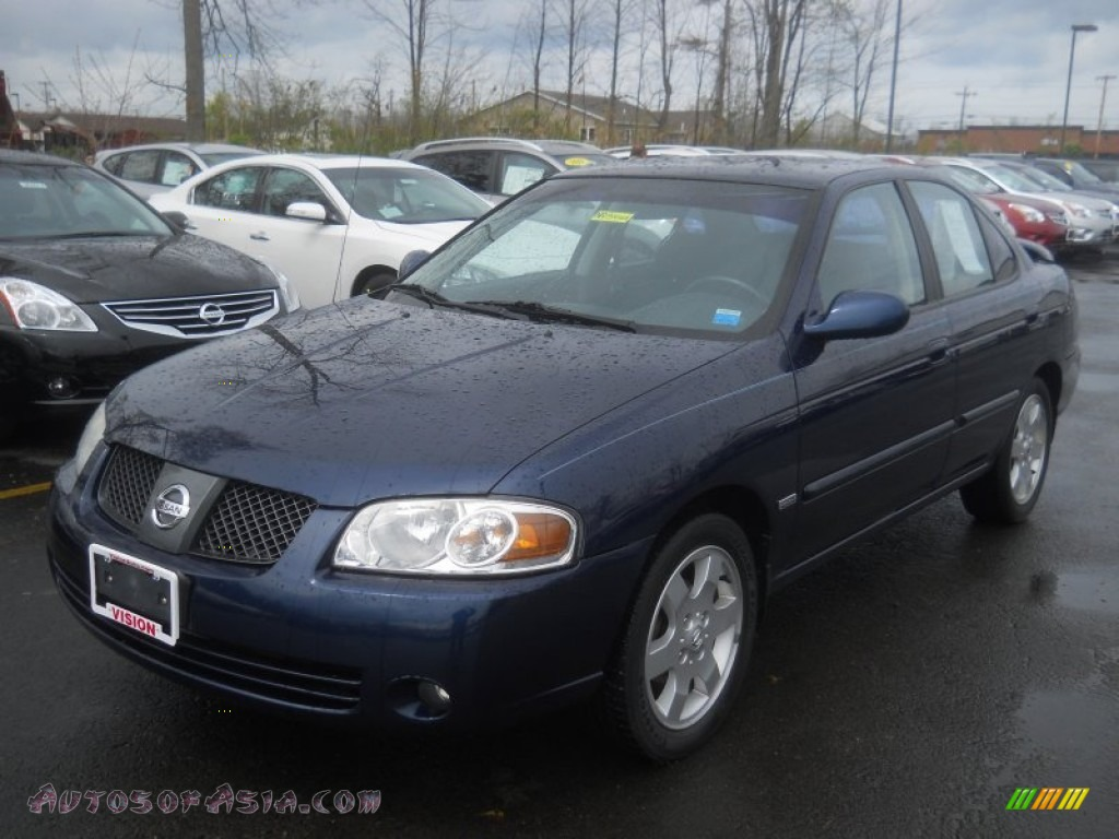 2005 nissan sentra 1 8 s special edition in blue dusk 490877 autos of asia japanese and. Black Bedroom Furniture Sets. Home Design Ideas