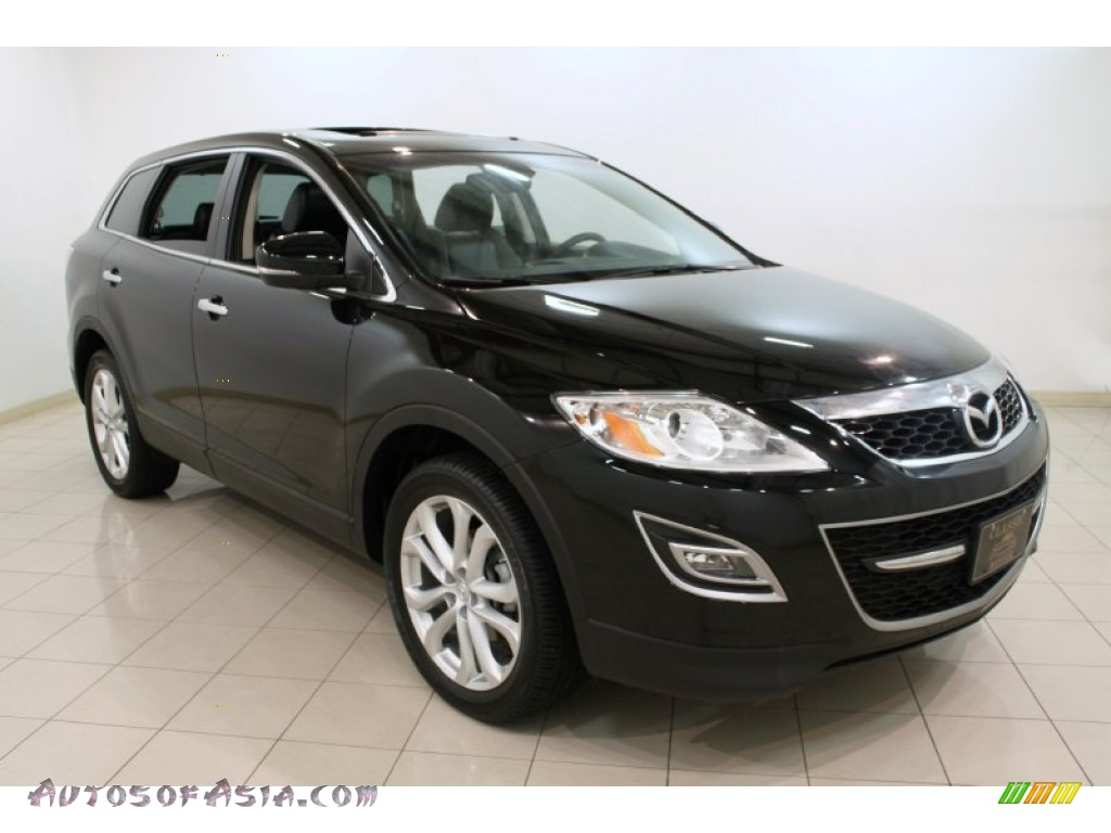 2011 mazda cx 9 grand touring awd in brilliant black 330105 autos of asia japanese and. Black Bedroom Furniture Sets. Home Design Ideas